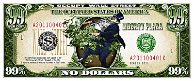 Occupy Wall Street Protest Currency